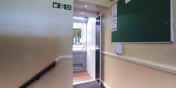 Betchworth Park lift interior with door open
