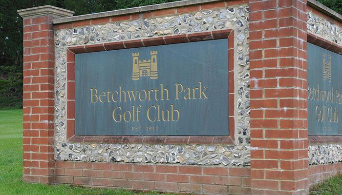 Betchworth Park Golf Club plaque