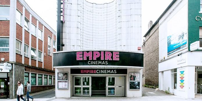 Street view of the Empire Cinema in Bromley