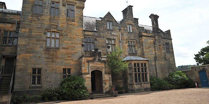 Exterior of Scotney Castle