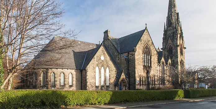 Trinity with Palm Grove United Reformed and Methodist Church exterior
