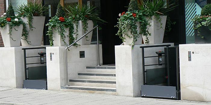 low rise platform step lift